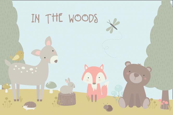 In the woods bundle
