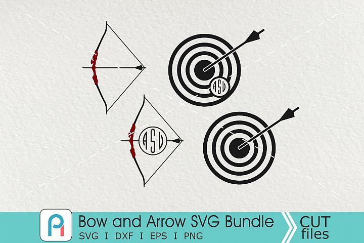 Bow and Arrow Svg, Archery Svg, Bow Svg, Arrow Svg