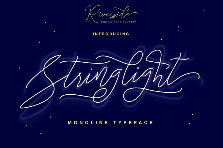 Stringlight Typeface - Free Font of The Week