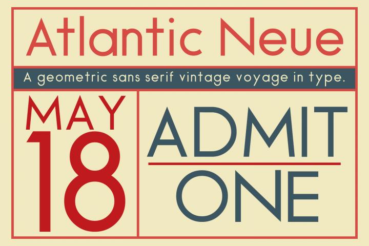 Atlantic Neue