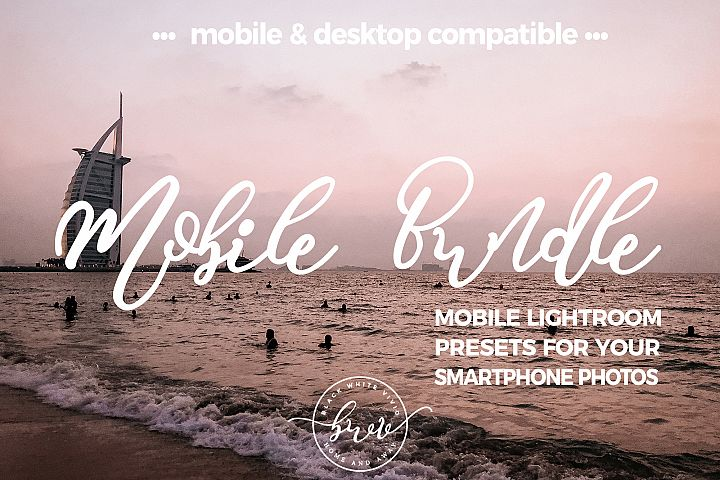 Big Mobile Lightroom Preset Bundle Deal