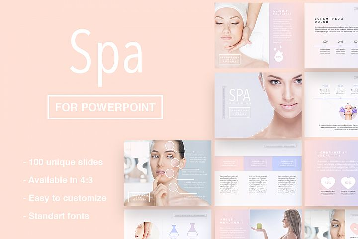 Spa Theme for PowerPoint