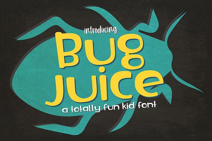 Bug Juice Font
