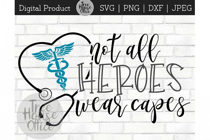 Nurse Heroes, RN Hero, Healthcare Worker SVG JPEG PNG DXF
