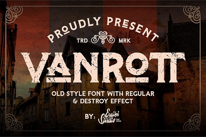 Vanrott - Old Style Font