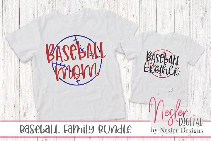 Baseball Family Crafting Bundle
