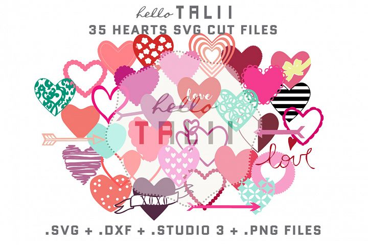 Hearts SVG Cutting Files BUNDLE