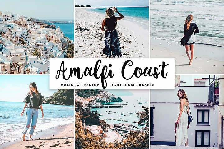 Amalfi Coast Pro Lightroom Presets