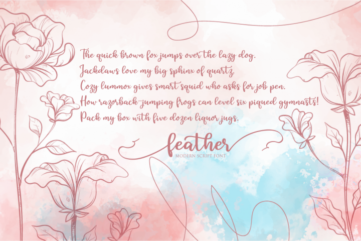feather example 7