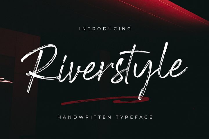 Riverstyle Font