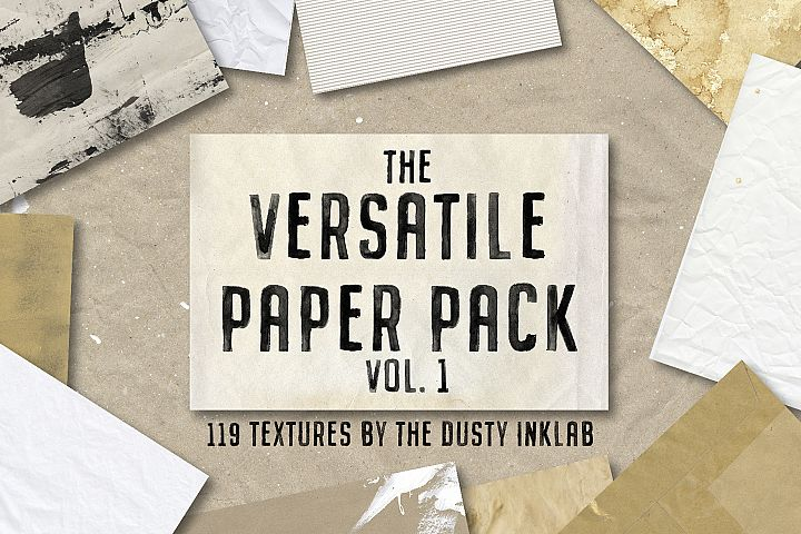 The Versatile Paper Pack Vol. 1