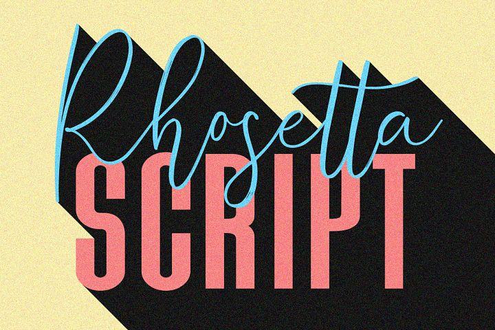 Rhosetta Script