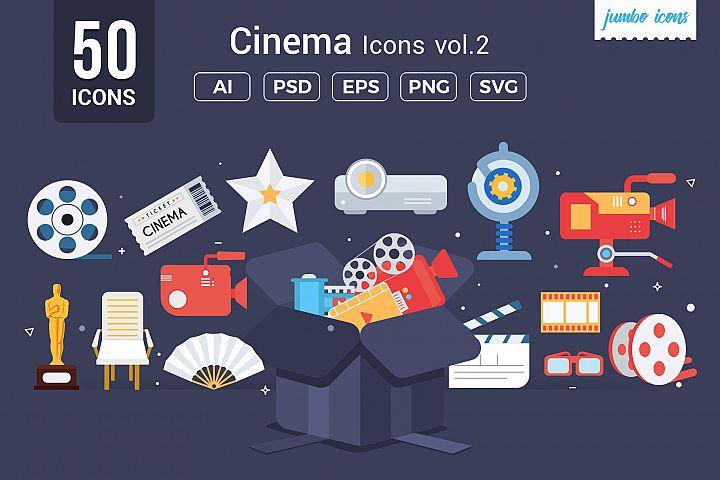 Cinema Vector Icons V2
