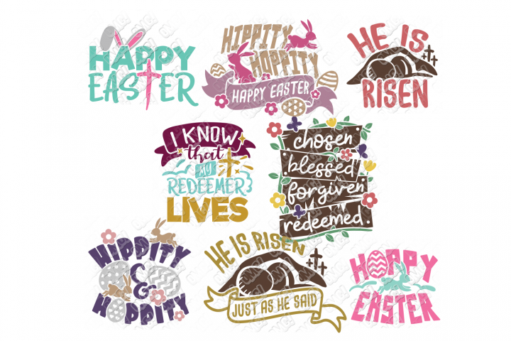 Easter Quotes SVG Phrases T Shirt in SVG, EPS, PNG, DXF, JPG