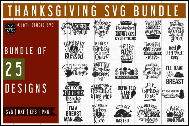 Thanksgiving SVG Bundle | MB58