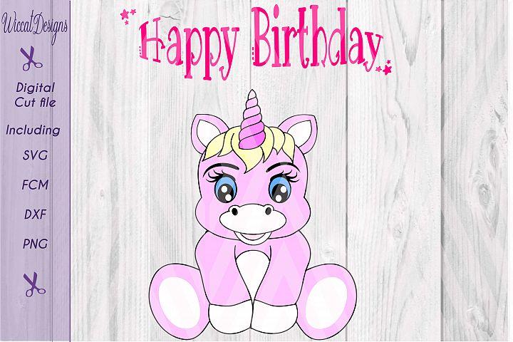 Baby unicorn cut files, cute unicorn design,
