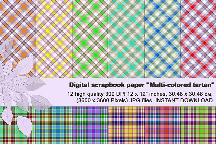 TARTAN PLAID Digital Scrapbook Paper