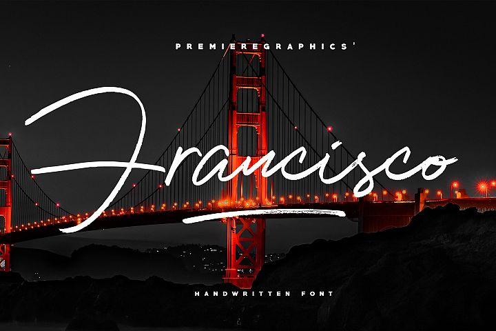 Francisco Script Font