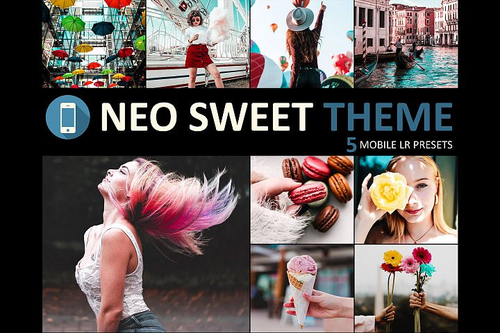 Neo Sweet Theme mobile lightroom presets