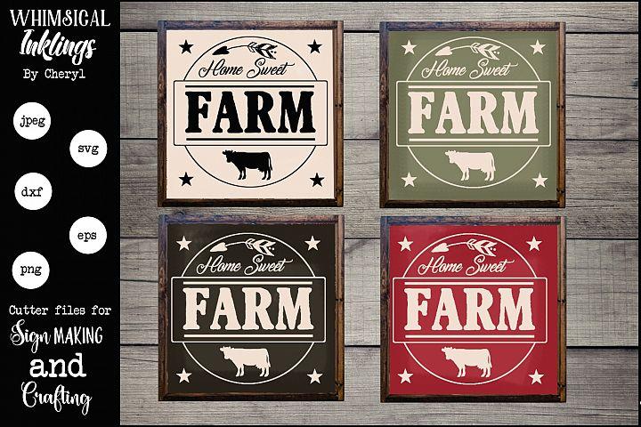 Home Sweet Farm SVG