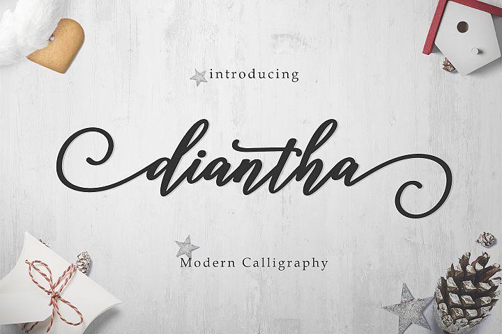 Diantha Script