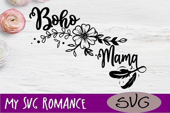Boho Mama Bohemian Arrow SVG DXF PNG EPS
