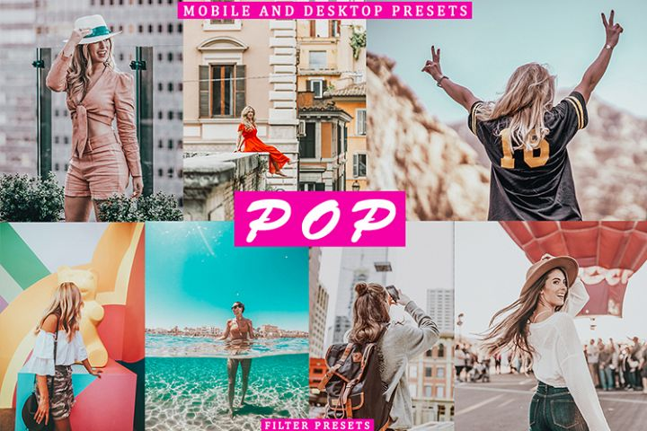 POP 5 Lightroom Mobile Desktop Presets