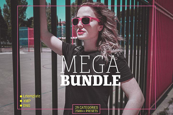 MEGA BUNDLE - PRESETS FOR LIGHTROOM MOBILE, DESKTOP and ACR