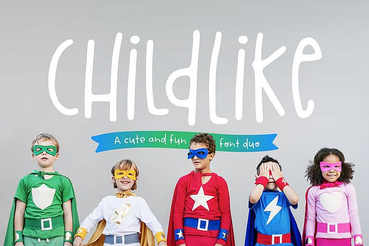Childlike Font Duo