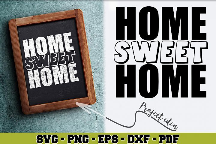 Home SVG n190 | Home sweet home