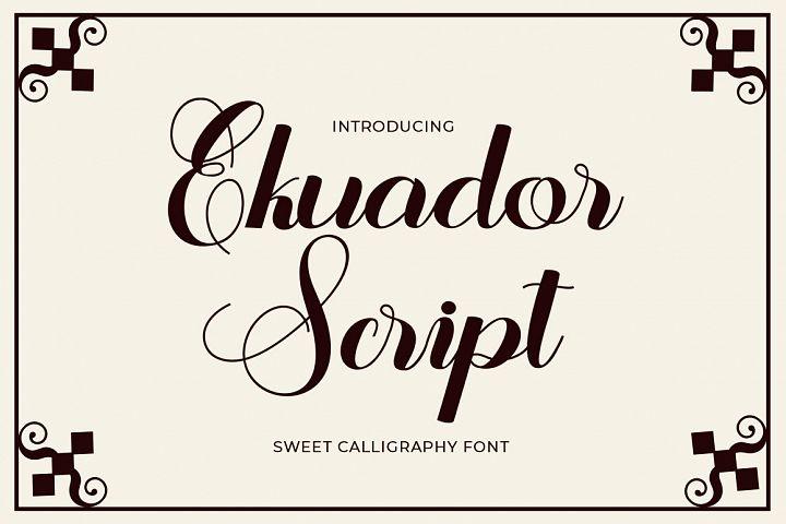Ekuador Script