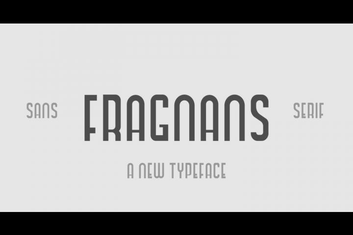 Fragnans Sans Serif Font