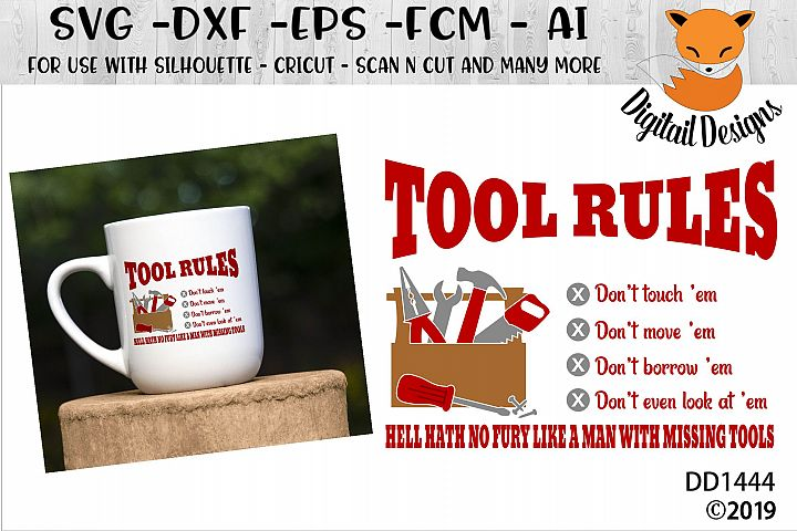 Tool Rules Fathers Day SVG