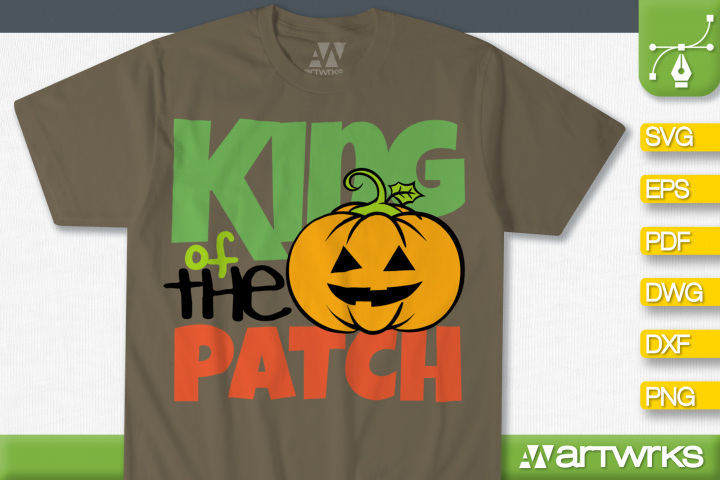 Halloween clipart SVG files for Cricut | King of the patch