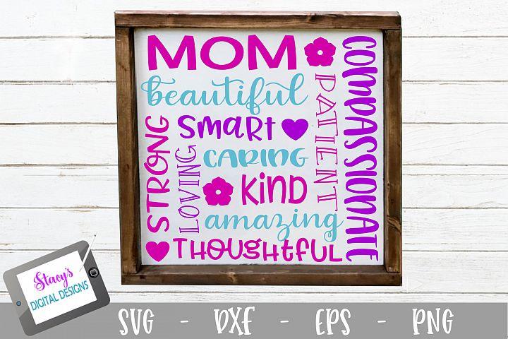 Mom Subway Art SVG - Mothers Day SVG