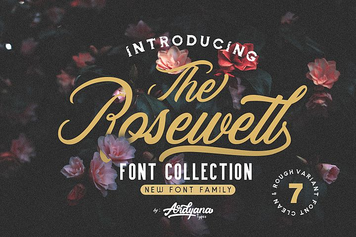 Rosewell Font Collection