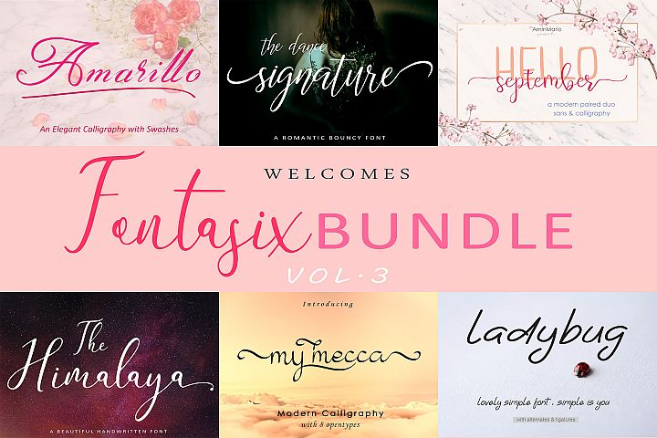 FONTASIX BUNDLE // VOL.3