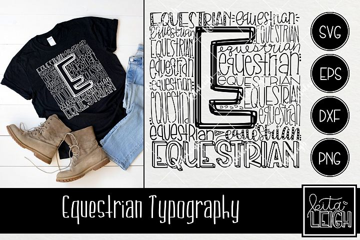 Equestrian Typography