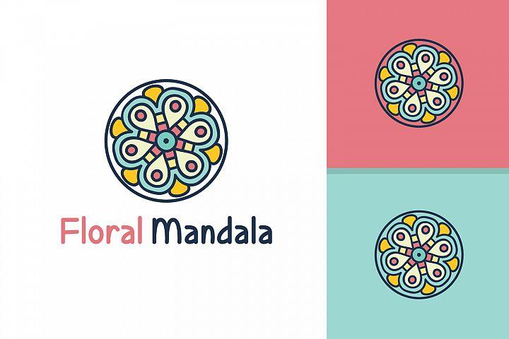 Floral Mandala Logo