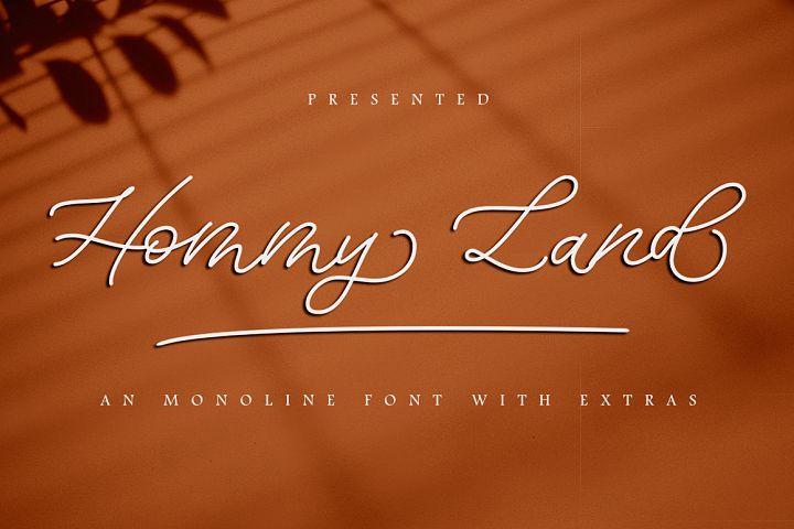 Hommy Land script