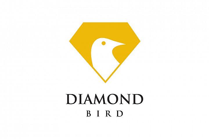 Diamond Bird Logo