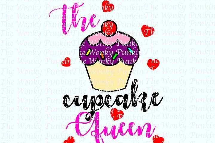 Cupcake Queen SVG