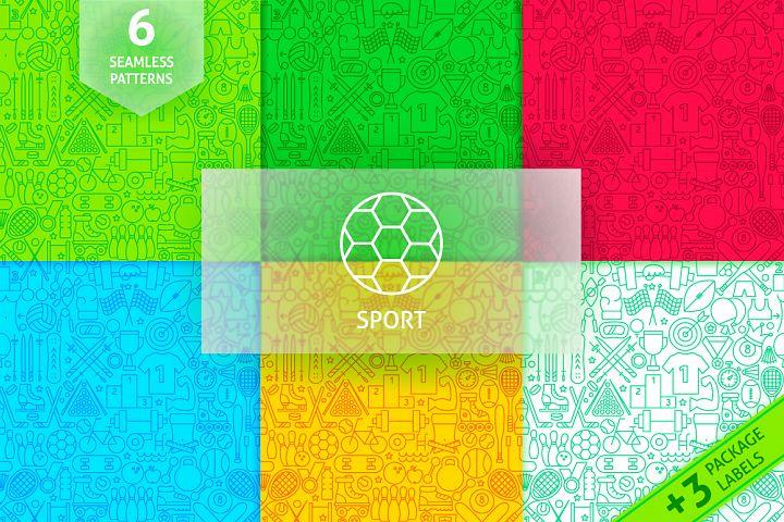 Sport Line Tile Pattern