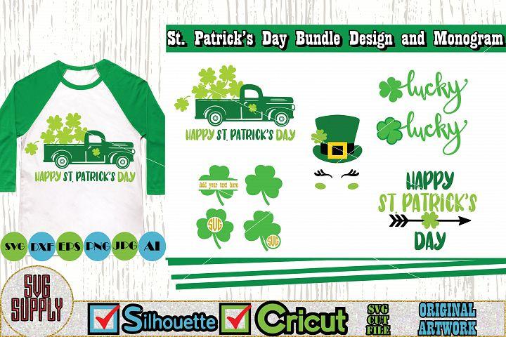St. Patricks Day SVG Cut File Set