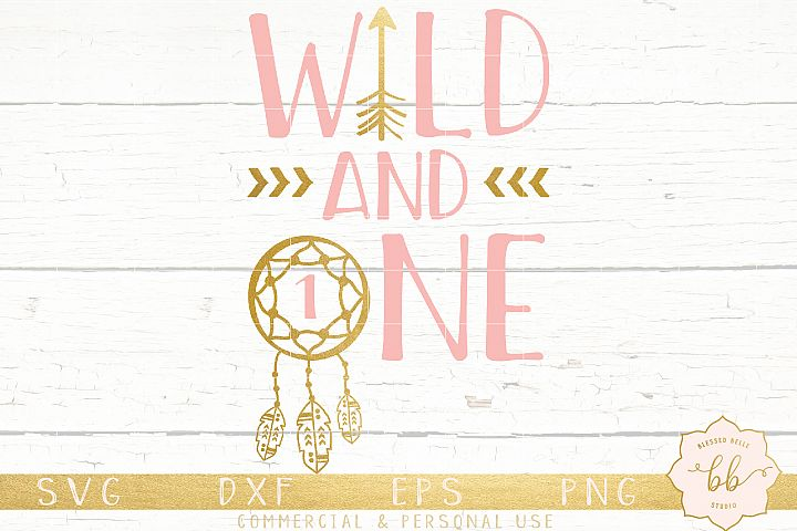 Wild and One SVG + DXF + EPS + PNG