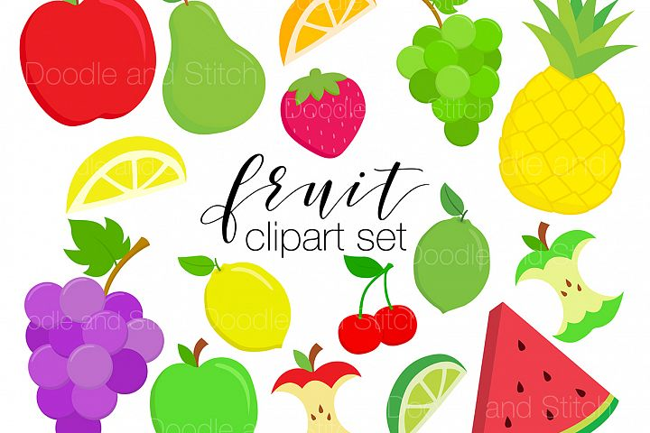 Fruit Clipart Illustrations