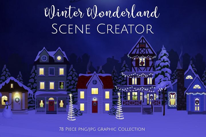 Winter Wonderland Scene Creator
