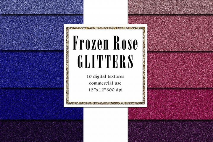 FROZEN Rose Glitters Pack