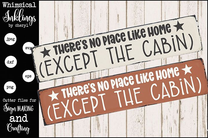 Except the Cabin SVG