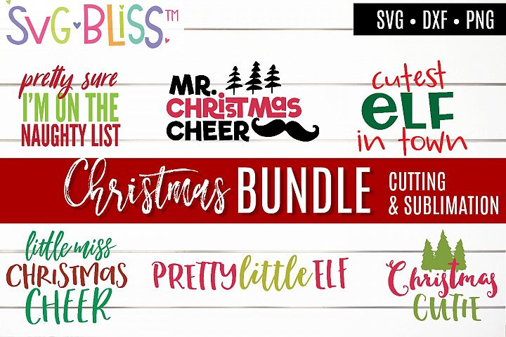 Christmas SVG & Sublimation Bundle - Kids Holiday Cut Files